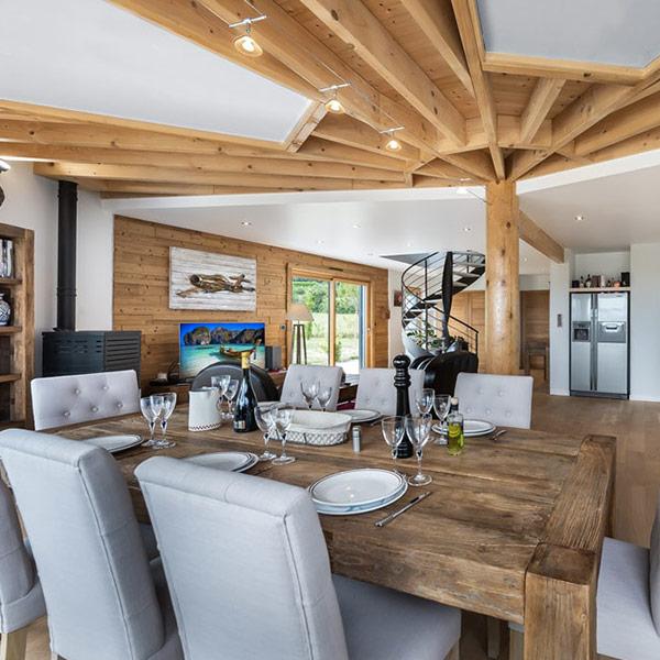 maison en bois demi-ronde à Anjou