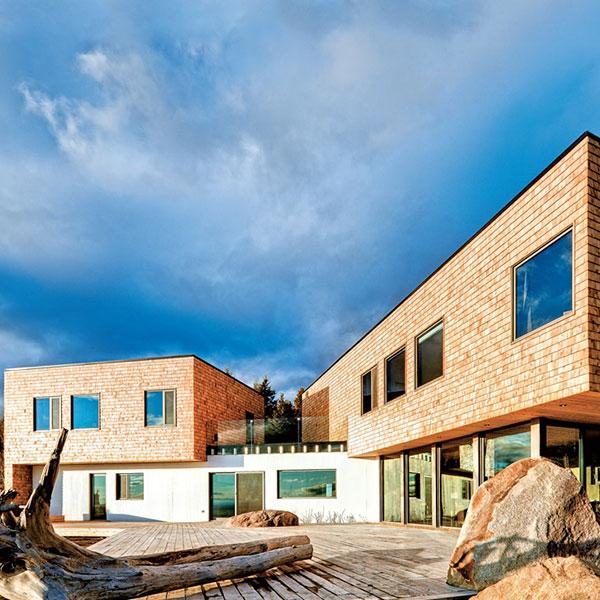 """Maison bois """"Marée Basse"""" - MU Architecture"""