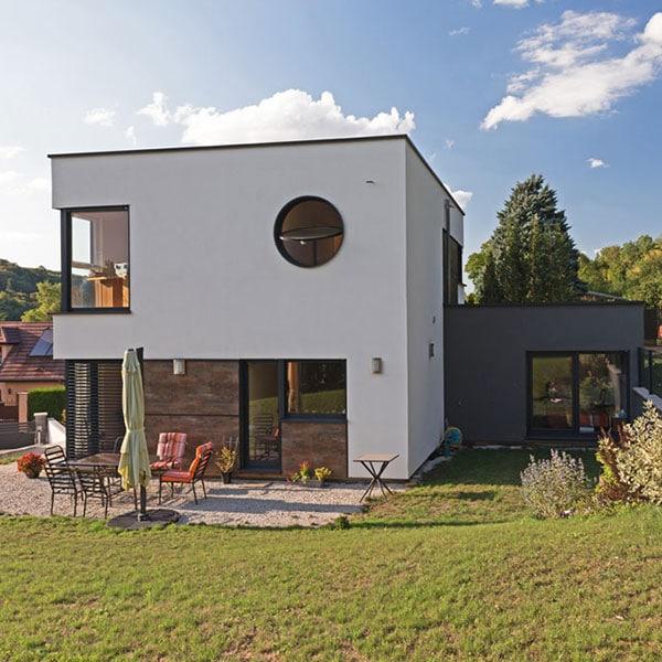 maison moderne à ossature bois en Meurthe-et-Moselle