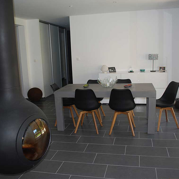 maison en ossature bois moderne dans le Haut-Rhin