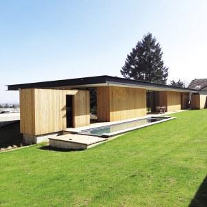 Maison originale en ossature bois - Caroline Barres & Thierry Coquet Architectes