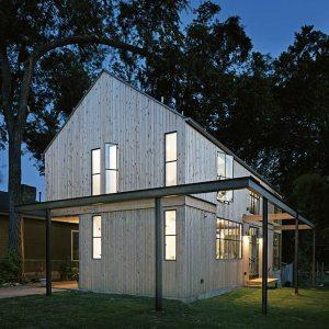 Maison bois texane