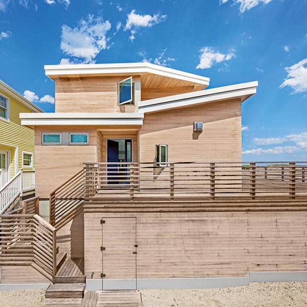 Maison bois sur la plage - BFDO Architect