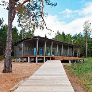 Maison bois scandinave - Kontio