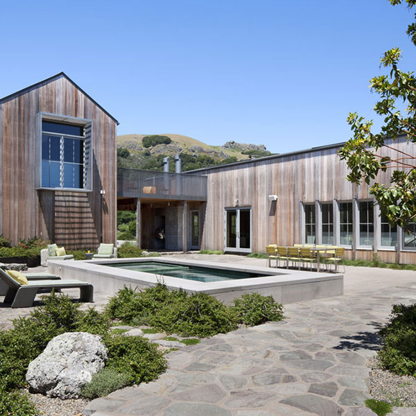 Ranch moderne en bois - Turnbull Griffin Haesloop