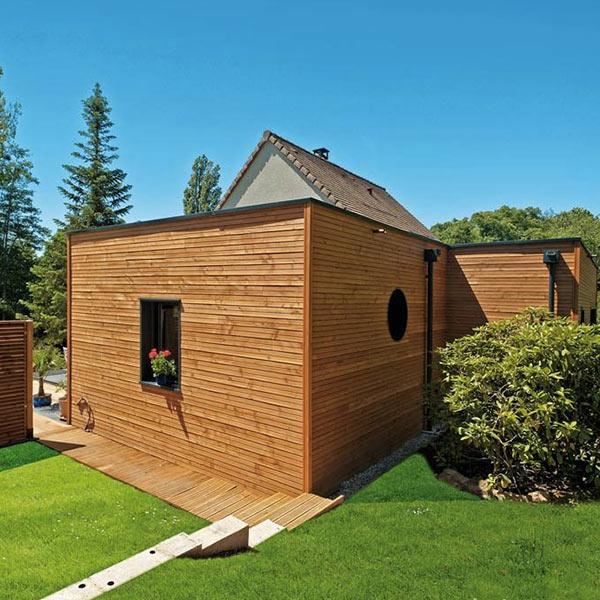 Maison extension bois - Le Drein Courgeon