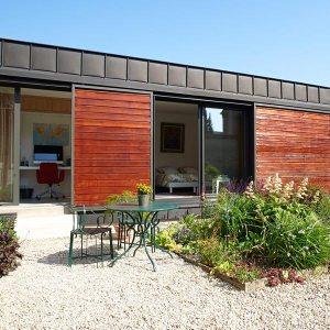 Extension bois ultra-contemporaine - C2C Couverture/EGG Architecture
