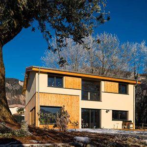 Maison intimiste en ossature bois - Echome