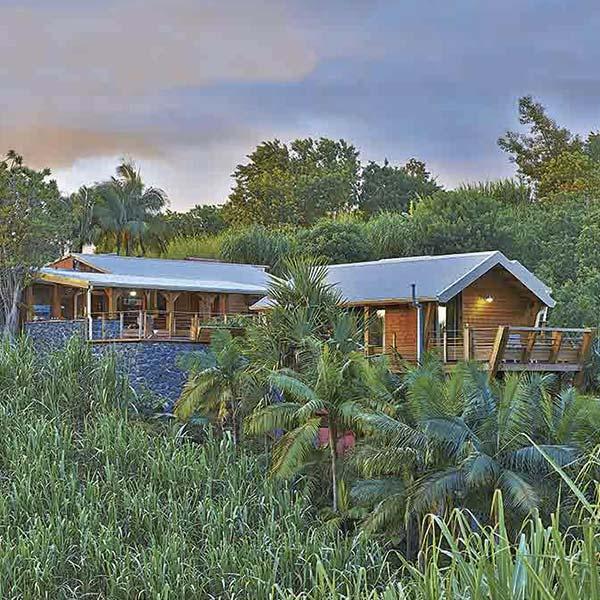 La Bulle Verte : maison d'hôtes en bois - Archigreen