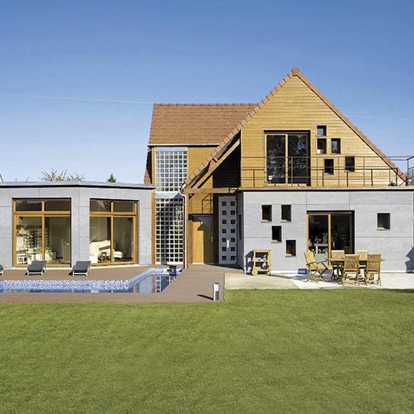 Maison bois cubique et atypique - Zepto