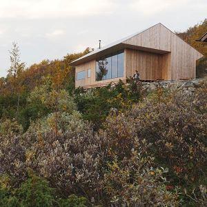 Petite maison en bois Kebony