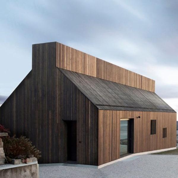 maison bois Chimney en Slovénie