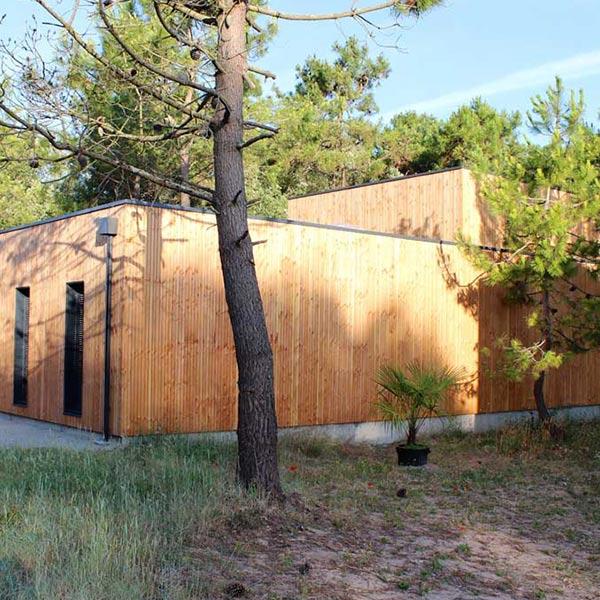 Maison familiale en ossature bois - Ryan Von Ruben