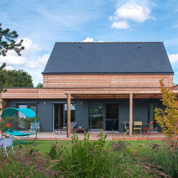 Maison bois personnalisée - booa