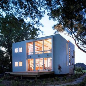 Maison bois Watershack - Studio Twenty Seven Architecture