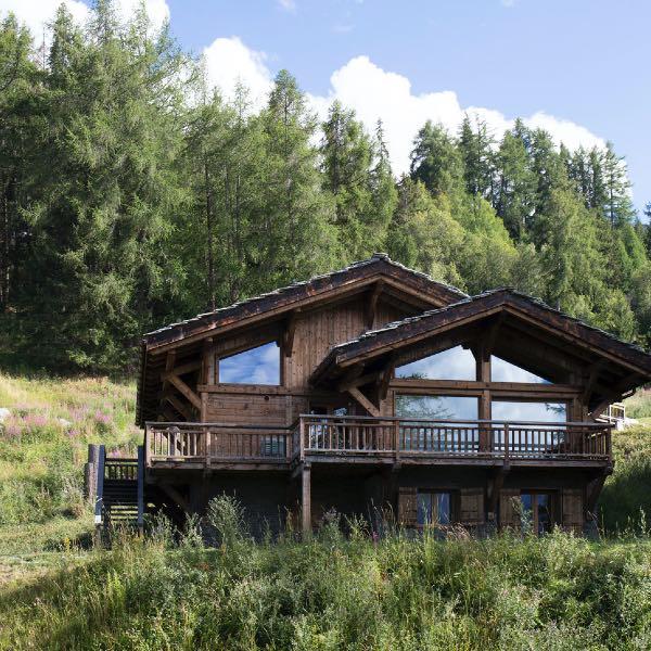 chalet en bois Touti en Suisse