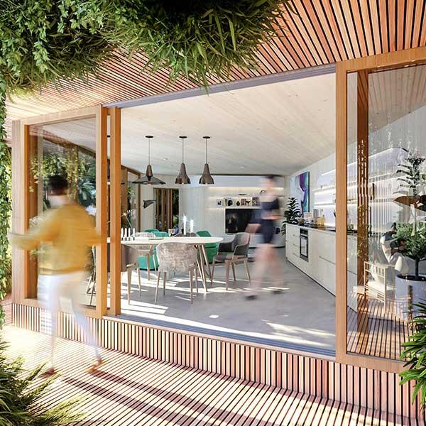 conception possible d'un appartement respectueux de l'environnement
