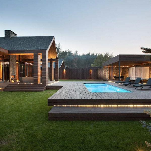 Chalet spa en bois - YOD Design