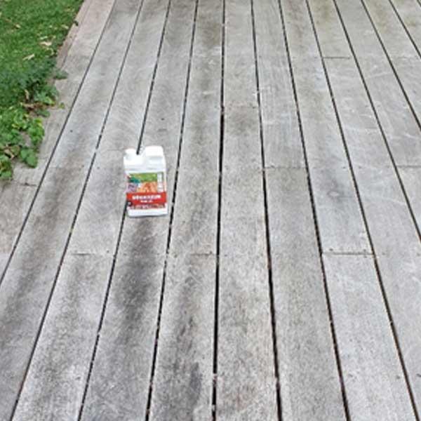 Un bon entretien de la terrasse en bois peut avoir une grande influence sur sa qualit