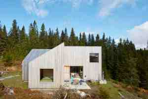 maison bois Mylla Hytte en Norvège