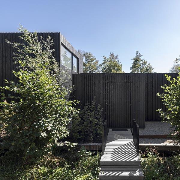 Maison bois familiale originale - Studio i29