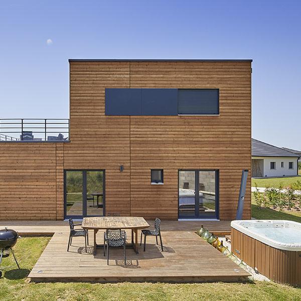 maison au style pool house - Booa