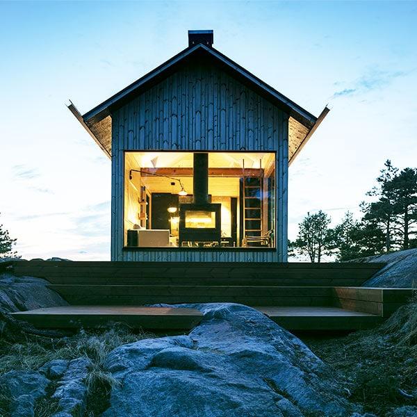 maison bois haut de gamme en Finlande