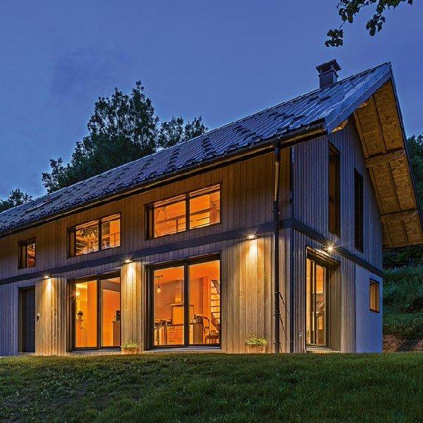 Une ferme en bois en Savoie