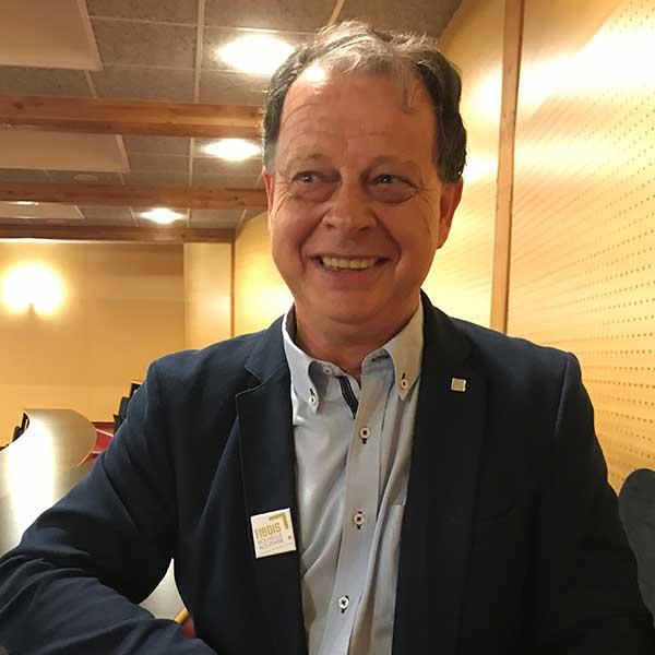 Christian Ribes, président de Fibois Nouvelle-Aquitaine 2021