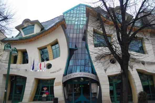 The Crooked Architecture, Sopot, Poland-Most Amazing Buildings