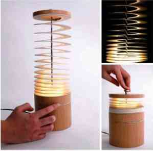 Artistic Curl Desk Lamp By Bamboo_a1Designs