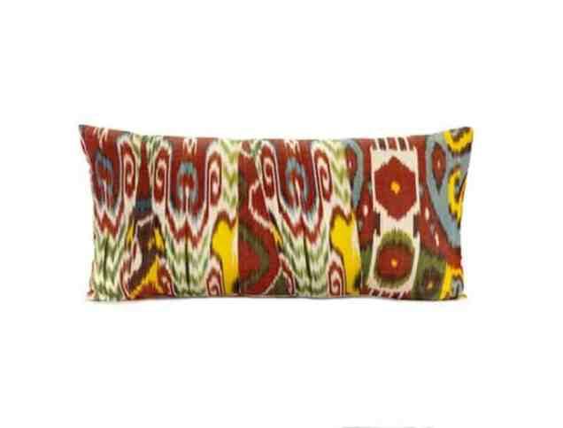 Uzbek ikat pillows