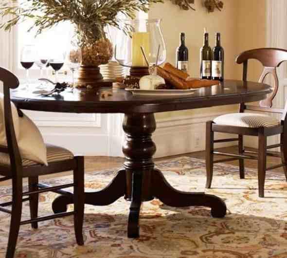 Harvest Pedestal Dining Table
