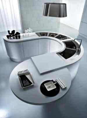 Hi-tech Kitchen_a37Designs