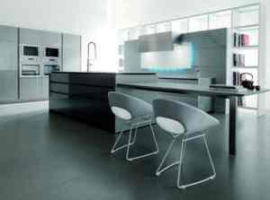 Hi-tech Kitchen_a48Designs