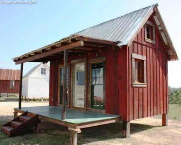 Small Houses-Tiny Texas Home