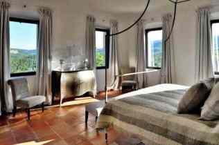 Luxury Italian Villa-bedroom with view