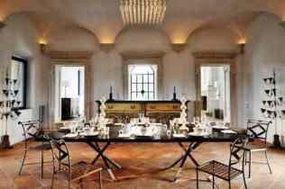 Luxury Italian Villa-dining room
