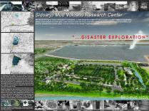 Master Plan-Mud Volcano Research Center at Sidoarjo_a471_3D Architectures