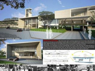 Master Plan-Mud Volcano Research Center at Sidoarjo_a472_3D Architectures