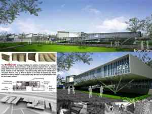 Master Plan-Mud Volcano Research Center at Sidoarjo_a474_3D Architectures