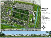 Master Plan-Mud Volcano Research Center at Sidoarjo_a478_3D Architectures