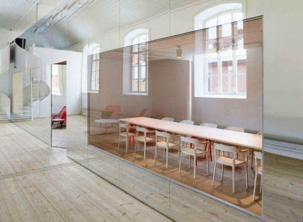 Minimalist Office Interior Design by Elding _a599Oscarson