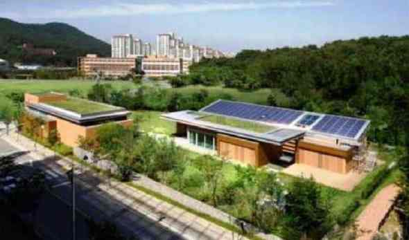 Sustainable Projects-Net zero modern house in South Korea