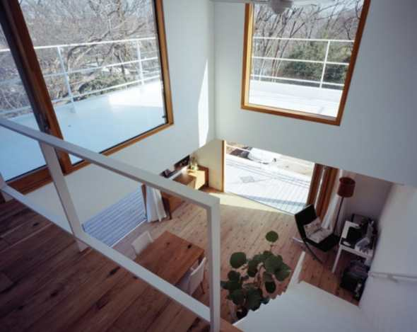 Inside of deck house