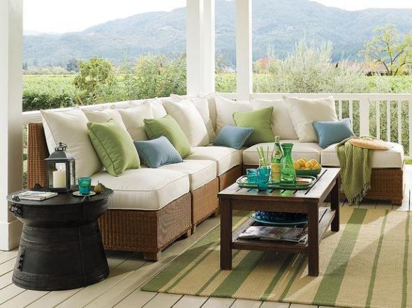 Sectional sofa Outdoor