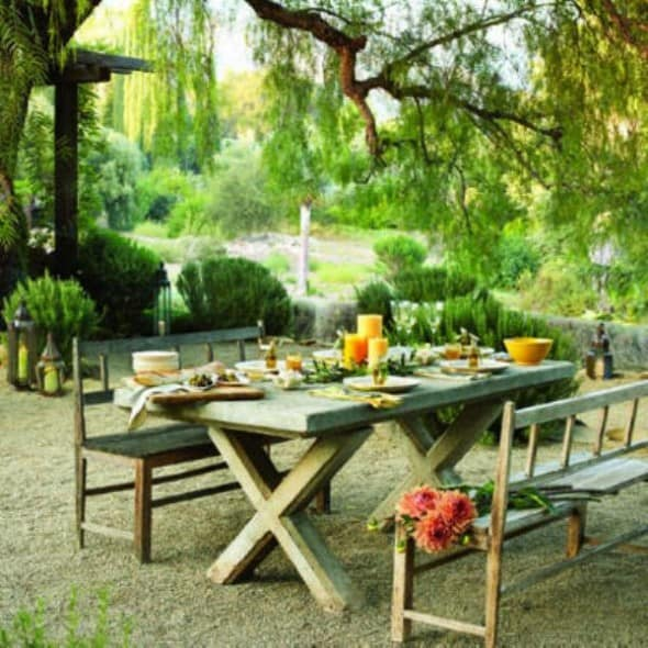 Tips to Design Outdoor Dining Area in Your Garden ... on Backyard Dining Area Ideas id=64165
