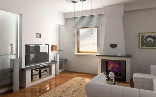 stylish land minimalist living room
