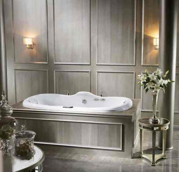 The whirlpool tub which many people refer to as a Jacuzzi