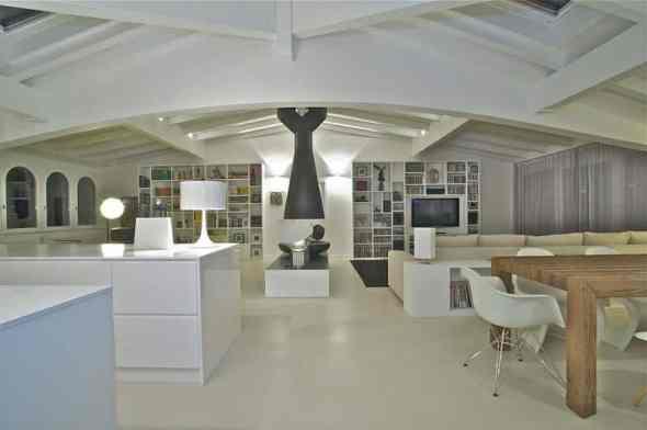 Arrestingly Beautiful Penthouse Interiors